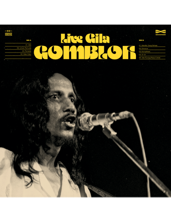 Gombloh Live Gila (37th Year Anniversary Black Vin...